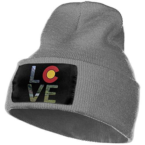 AEMAPE Unisex Beanie Hat Love Colorado Knit Hat Cap Skull Cap