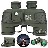 Best Marine Binoculars - NOCOEX 10x50 Military Binoculars, Marine Binoculars with Compass Review