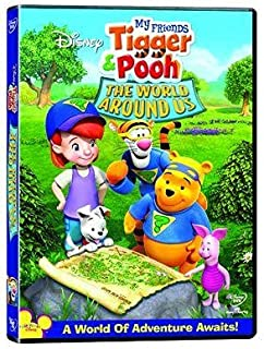 My Friends Tigger and Pooh - The World Around Us   DVD   Arabic & English