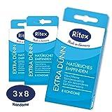 Ritex EXTRA DÜNN Kondome für intensives Empfinden, 24 Stück, Made in Germany