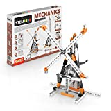 Engino Discovering STEM Mechanics Pulley Drives | 8 Working Models | Illustrated Instruction Manual | Theory & Facts | Experimental Activities | STEM Construction Kit
