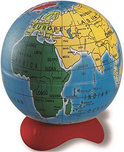 Maped - Taille-crayon Globe - 1 Trou - Taille-Crayon avec Réservoir - Réserve en Métal