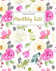 Monthly Bill Planner and Organizer: budgeting work book | 3 Year Calendar 2020-2022 Bill Planner Sheets | Weekly Expense Tracker Bill Organizer ... Gift for Mom (Financial Planner Budget Book)
