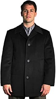 Sponsored Ad - StoutMensShop Big and Tall Luxury Wool Blend Car Coat to 7XLT