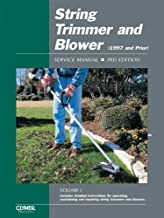 String Trimmer and Blower: Service Manual, 3rd Edition