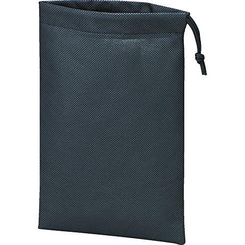 TRUSCO(トラスコ) 不織布巾着袋 黒 420X330X100MM (10枚入) TNFD-10-M