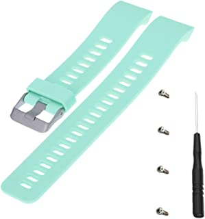 Replcement Strap for Garmin Forerunner 35, Meiruos Wristband for Garmin Forerunner 35 Watch (Teal)