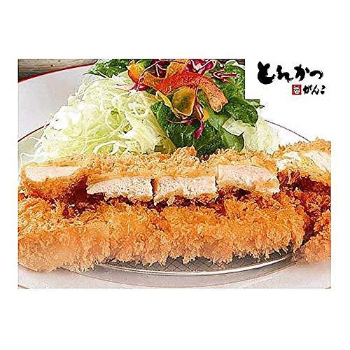 ( 産地直送 お取り寄せグルメ ) 大阪「とんかつがんこ」 チキンかつ 80g×20枚