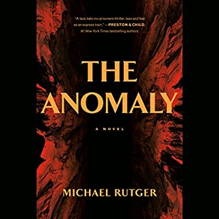 The Anomaly audiobook cover art