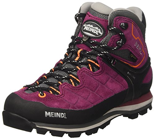 Meindl Damen BROMBEER Wanderstiefel, Pink (BlackBerry/orange), 39.5 EU