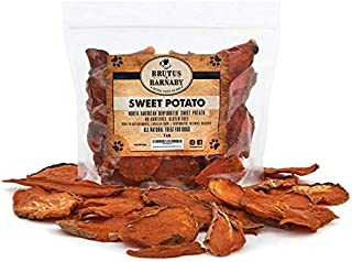Sponsored Ad - BRUTUS & BARNABY Sweet Potato Dog Treats- Dehydrated North American All Natural Thick Cut Sweet Potato Slic...