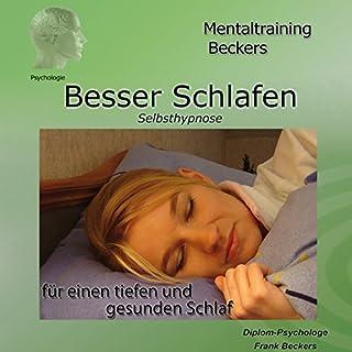 Besser schlafen. Selbsthypnose-Hörbuch für einen tiefen und gesunden Schlaf Titelbild