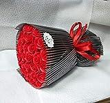 CPFYZH Nette Plüschbär Puppe Spielzeug Seife Rose Bouquet Hochzeitsgeschenk für Romantikurlaub...