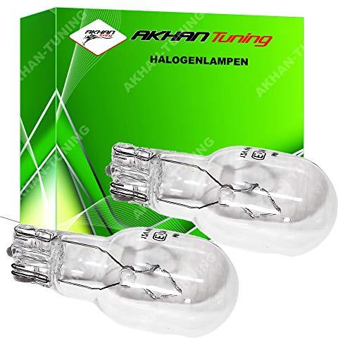 Akhan 58099 - Halogenlampe 12V W16W 16W W2,1x9,5d