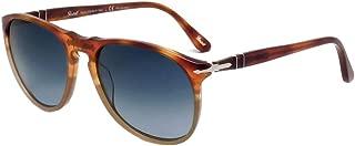 Mens Sunglasses Brown/Blue Acetate - Polarized - 55mm