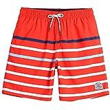 Beamlet Mens Swim Trunks Quick Dry Beachwear Board Shorts...