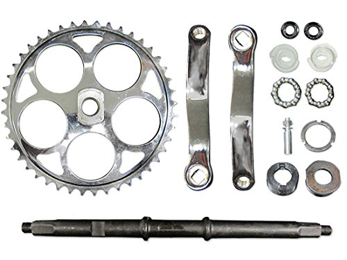 Wide Crank Assembly 2 Stroke Bicycle Engine Kit Replacement Part Motorized Bike