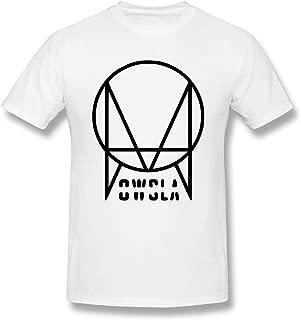 Black Skrillex Recess Owsla Man T Shirt Crew Neck Short Sleeve Tee Tops White