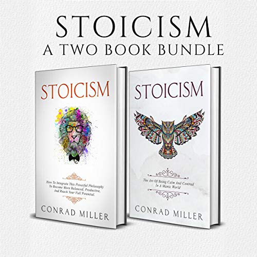 Stoicism: A Two Book Bundle cover art