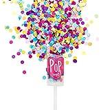 Pikka Pop Premium Konfetti Konfetti Shooter für Party Geburtstag Hochzeit. Konfetti Popper in...