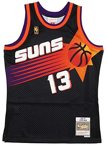Mitchell & Ness Phoenix Suns Steve Nash 1996 Alternate Swingman Trikot, Herren, schwarz, Medium