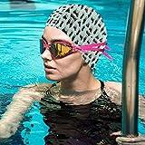 Gebrb Black And Tan Hamilton Stopher Lycra Cuffie da Nuoto,Cuffie da Bagno,s Bathing And S...