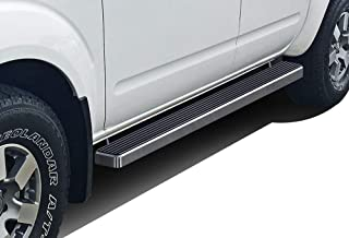 APS iBoard Running Boards 4 inches Custom Fit 2005-2020 Nissan Frontier Crew Cab Pickup 4-Door (Nerf Bars Side Steps Side Bars)