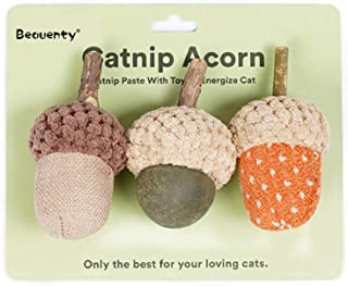 Beauenty,Acorn cat Mint toys, can bite or grind teeth, must choose one, it knows more about cats than we do.