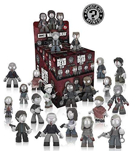Funko Mystery Minis Walking Dead In Memoriam Case of 12 - Season 8 - 12 x Figurines vinyle Mystery Minis
