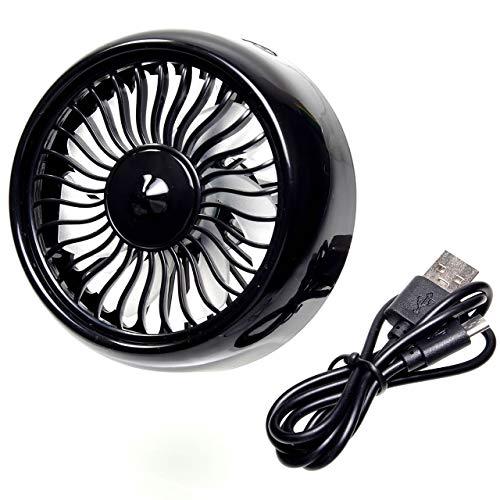 GoodsLand 【 USB 給電 】 クリップ ファン 扇風機 車 車載 車内 カー 用品 暑さ対策グッズ エアコン 簡単...