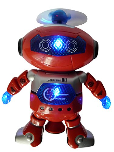 Ikumaal kstarz-Toys–Robot teledirigido A181Niños de Juguete con Mando A Distancia, El Fantástico, Cumpleaños de sgeschenk, R/C RC Juguetes para niños y niñas, niños Robot teledirigido