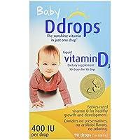4-Count Ddrops Baby 400 IU Drops