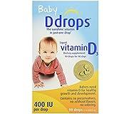 Ddrops Baby 400 IU Drops, 2Count