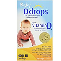 Ddrops Baby 400 IU, 90 Drops, 2 Count by Ddrops
