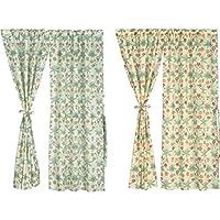 川島織物セルコン のれん ライトオレンジ 145×150cm