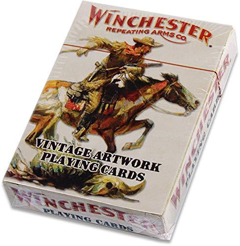 Winchester Playing Cards One Deck Vintage Artwork Rockin W Brand