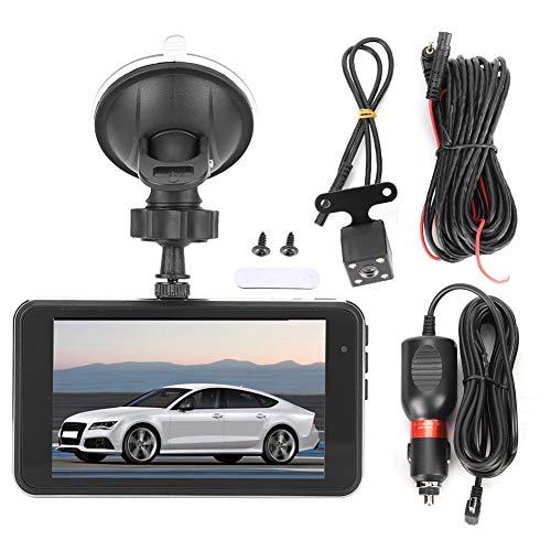 Cámara de tablero DVR para automóvil, Grabador de conducción de automóvil Auto para automóvil 4in 1080P DVR 170 ° Gran angular Grabador de video de visión nocturna Cámara de tablero