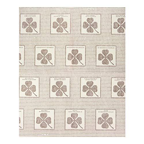 4 Wenko Dunst-Flachfilter, je 57x47 cm, inkl. 2 Paar Einmalhandschuhe, mit Sättigungsanzeige, biologisch abbaubar, für alle gängigen Abzugshauben