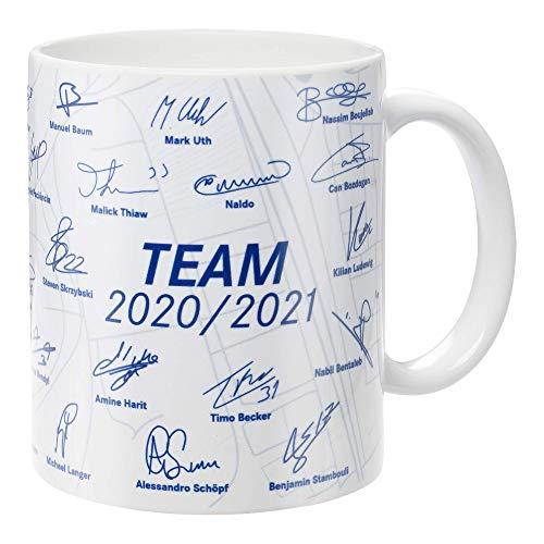 FC Schalke 04 Tasse, Becher, Kaffeetasse Team 2020/2021, 10553