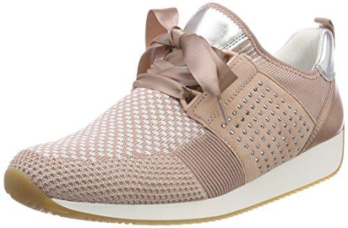 ARA Damen LISSABON Sneaker, Violett Weiss, Puder/Silber 06, 39 EU