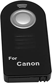 FoRapid IR Wireless Shutter Release Remote Control Compatible with Canon EOS 7D, 6D, 5D MK III, 5D MK IV, 7D MK II, 80D 70D 1200D 100D 700D 650D 1100D 600D 550D, EOS M, Rebel T6S T6I T5I T4I T3I XTI