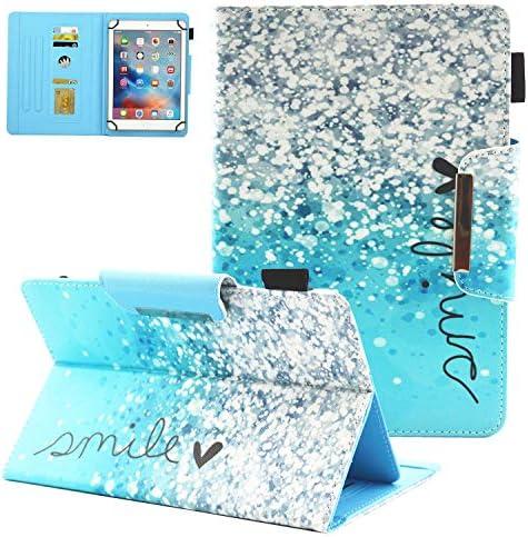 Popbag Universal Case for 7 Inch Tablet Slim Lightweight Flip Stand Card Holder Cover Case for product image