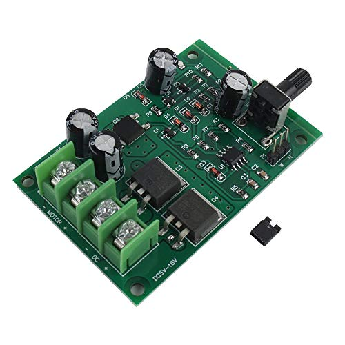 CVBN Motor de Disco Duro Controlador de Controlador de Motor sin escobillas de 5v-12v DC fácil de Instalar, Verde
