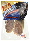 Carolina Prime Pet 41102 Salmon Jerky Stuffed Beef Hooves Treat For Dogs ( 1 Pouch), One Size , brown
