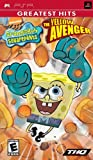 Spongebob Squarepants The Yellow Avenger - Sony PSP