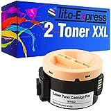 2Toner XXL BLACK para Epson C13S050651Aculaser M1400MX-6201N 1414nf MX14MX14NF platinumserie