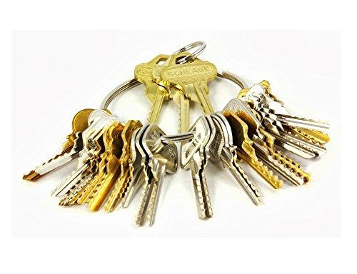 Kit de 15 llaves bumping Bump-Keys para cerraduras de serreta - España Kit B