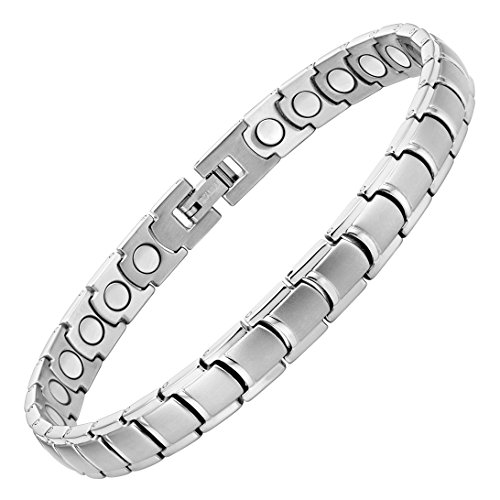 Womens Anklet Titanium Magnetic Therapy Anklet Bracelet for Arthritis Pain Relief and Tarsal Tunnel Adjustable by Willis Judd