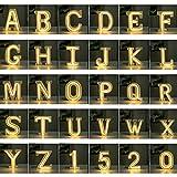 LEDネオン ロマンチックな手紙モデリングランプ 装飾的なシンボルデジタルライト 誕生日の提案白色光 お祝いの雰囲気ライト (Color : Battery-Warm White, Size : N)