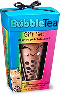 Bubble Tea Kit Gift Set, 6 Pieces